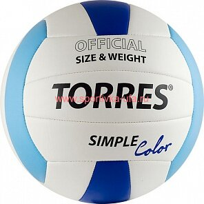 Мяч Torres Simple Color V30115 р. 5