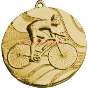 Медаль ММС5350 велосипедист д=50 мм