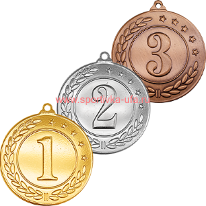 Комплект медалей 3443-000 Камчуга д=40 мм
