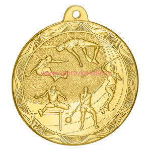 Комплект медалей MZ67 лёгкая атлетика д=50 мм