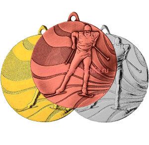 Комплект медалей ММС3350 лыжи д=50 мм