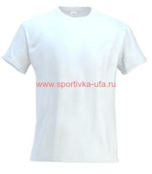 Футболка х/б белая 180 гр/м2