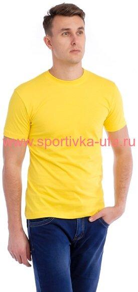 Футболка х/б лимонная 180 гр/м2
