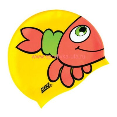 Шапочка Zoggs Silicone Character Cap