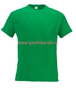 Футболка х/б светло-зеленая 180 гр/м2