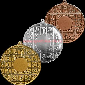 Комплект медалей 3456-100 Плакша д=70 мм