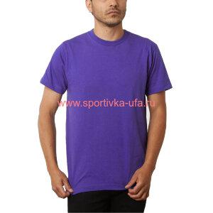 Футболка х/б фиолетовая 180 гр/м2