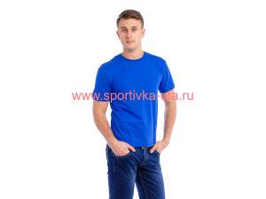 Футболка х/б синий (роял) 180 гр/м2