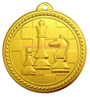 Комплект медалей MZ80 шахматы д=50 мм
