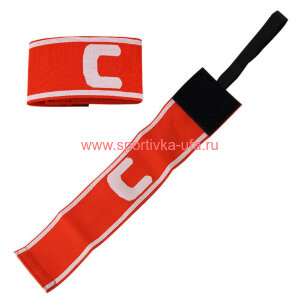 Капитанская повязка Torres SS11002-04 красно-белая