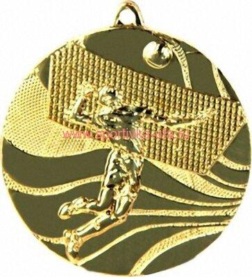 Комплект медалей ММС2250 волейбол д=50 мм