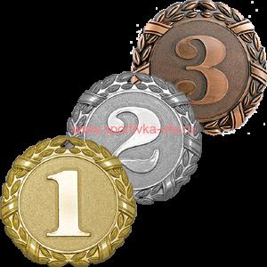 Комплект медалей 3522-000 Сандал д=70 мм