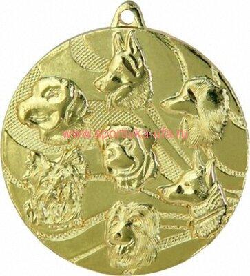 Комплект медалей ММС3150 Собаки д=50 мм