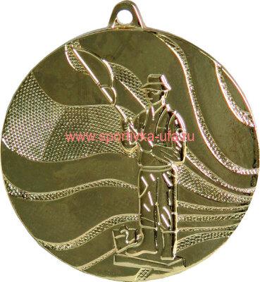 Комплект медалей ММС3850 рыболов д=50 мм