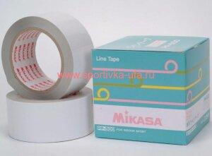 Лента для разметки площадок Mikasa PP-500-W 5см, 50 м