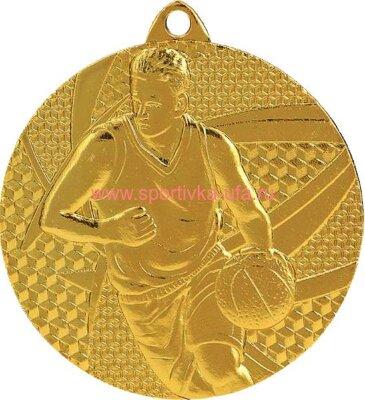 Комплект медалей ММС6850 баскетбол д=50 мм