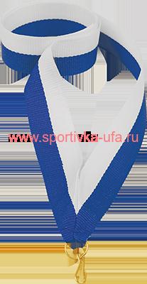 Лента бело-синяя