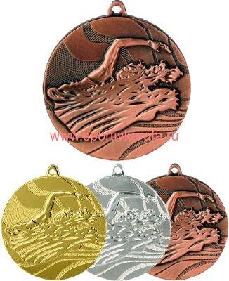 Комплект медалей ММС2750 плавание д=50 мм