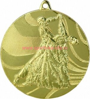 Комплект медалей ММС2850 танцы д=50 мм